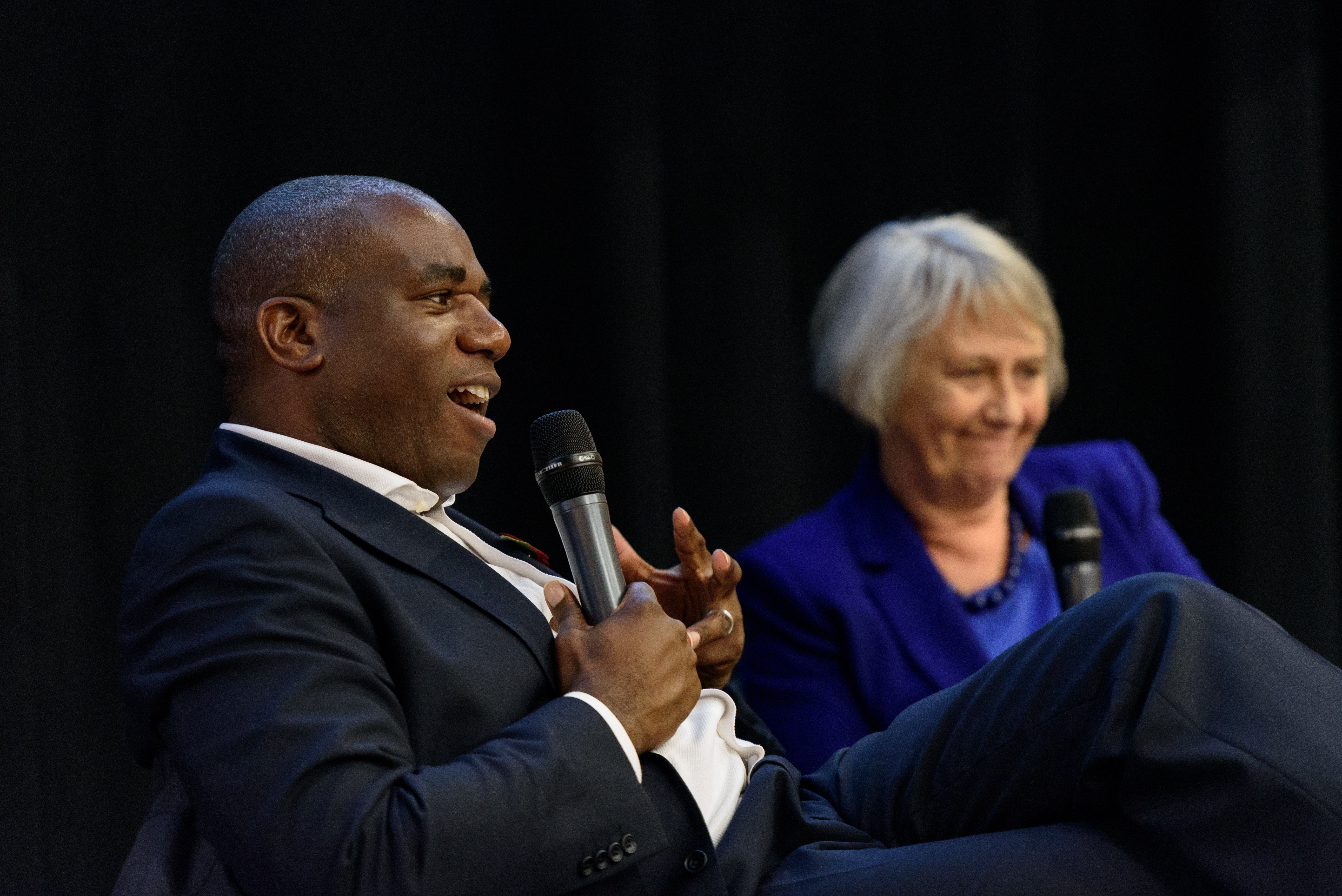 David Lammy Clinks AGM