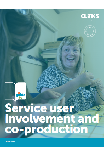 Cover photo of guide to service user involvement