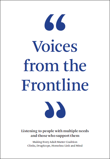 Voices from the Frontline report cover