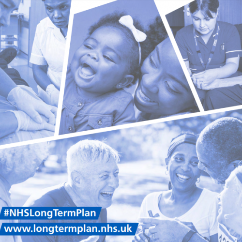 NHS Long Term Plan cover