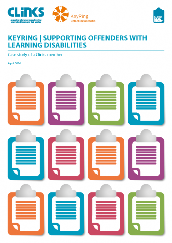 Keyring - supporting offenders with learning disabilities
