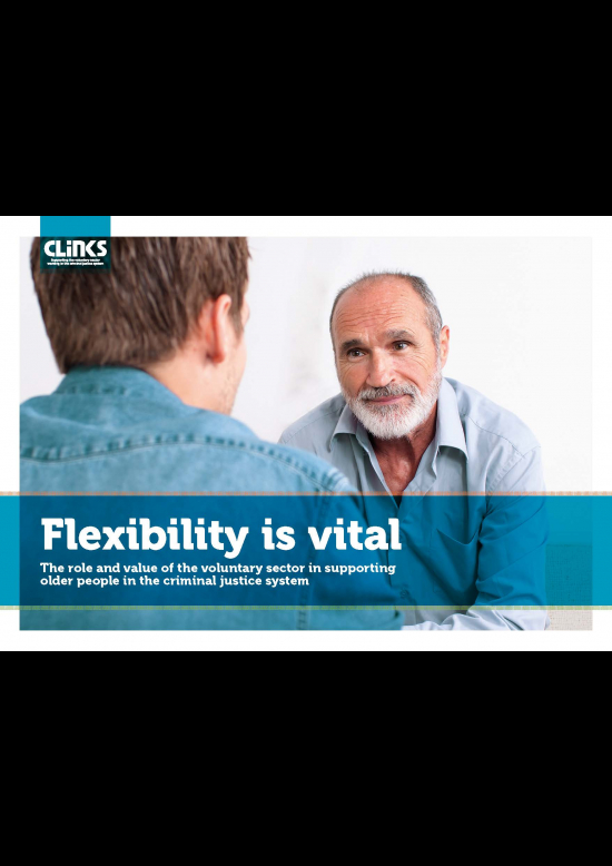 Flexibility is vital report cover