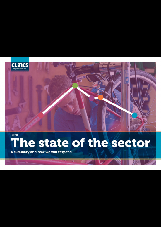 State of the sector 2018: A summary and how we will respond cover image