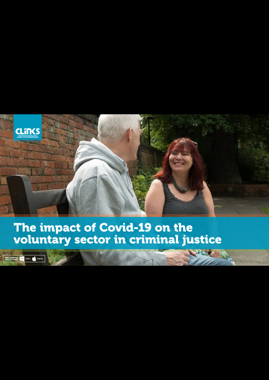 The impact of Covid-19 on the voluntary sector in criminal justice